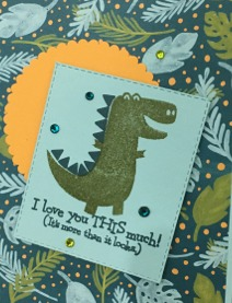 Dino Days Stampin' Up!