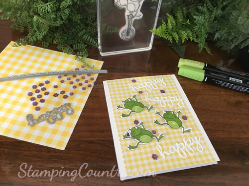 So Hoppy Together Stampin' Up!