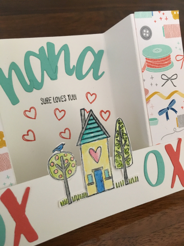 Nana Loves You Card