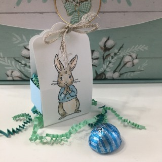 Bunny Treat Holder by Robin Feicht