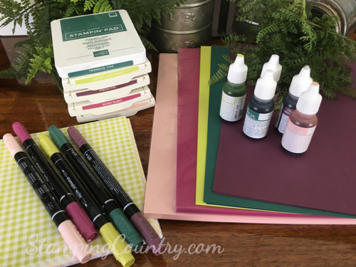 2017-2019 Stampin' Up! In Colors