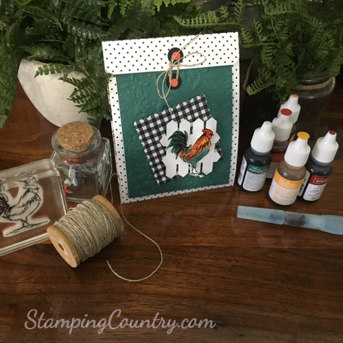 Home to Roost Stampin' Up!