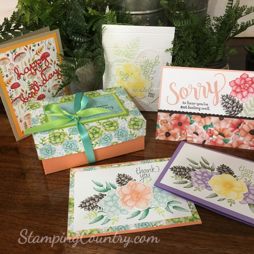 Painted Seasons Stampin' Up!