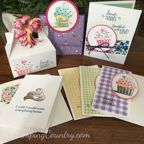 Hello Cupcake Stampin' Up!
