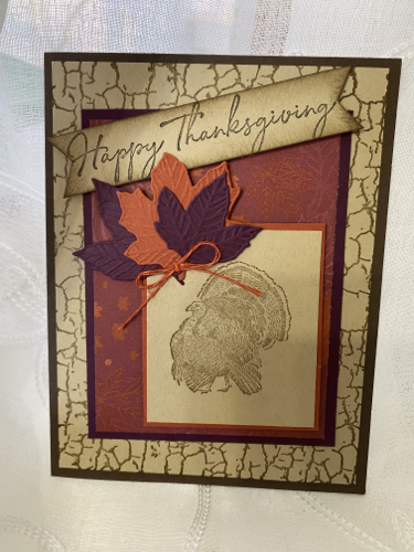 Thanksgiving Card Toni Arnold