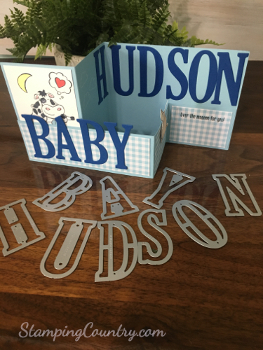 Personalized Baby Card