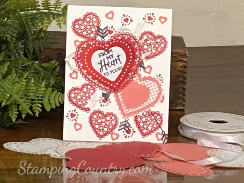 From My Heart Stampin' Up!