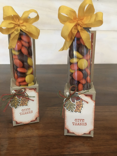 Thanksgiving Treat Boxes Toni Arnold