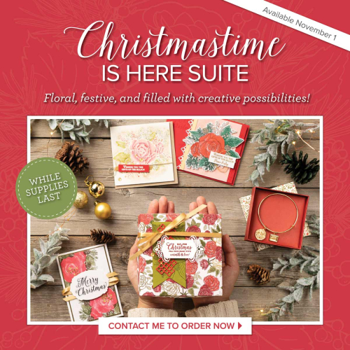 Christmastime is Here Stampin' Up!