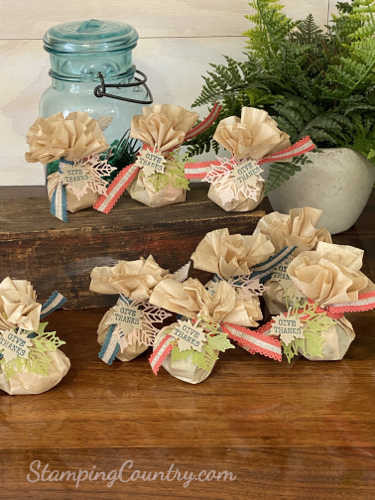 DIY Thanksgiving Table Favors