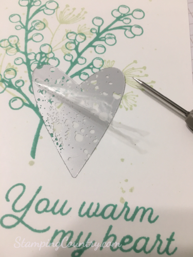 Frosted Foliage Stampin' Up!
