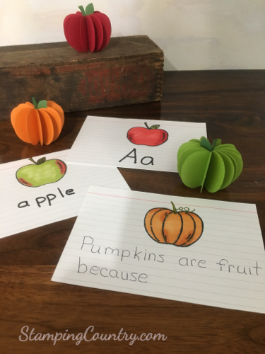 Apples & Pumpkins Unit Study for Kids