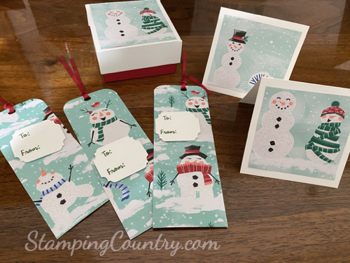 Christmas Gift Tags Boxes