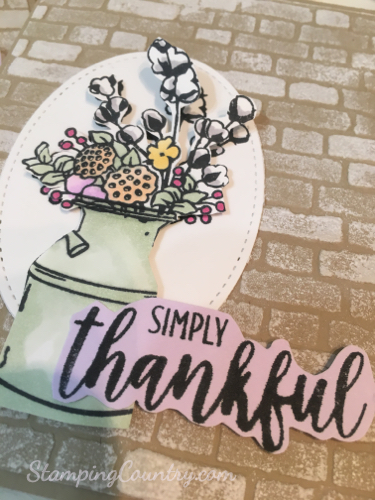 Country Home Stampin' Up!