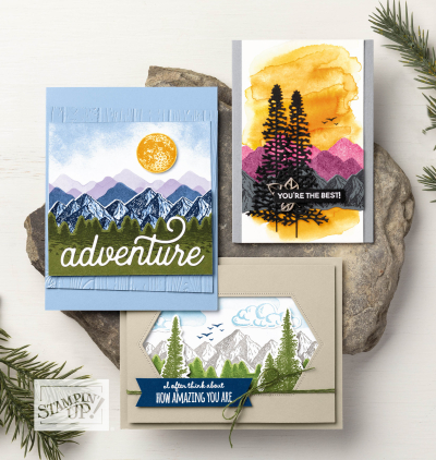 Mountain Air Stampin' Up!