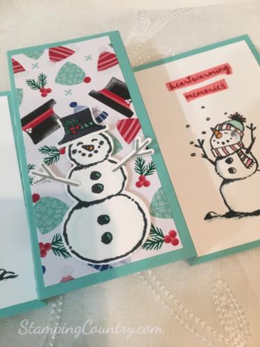 Snowman Season Fun Fold Card