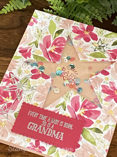 Stitched Star Dies Stampin' Up!