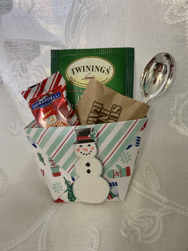 Winter Treat Pouch Lori Ballitch
