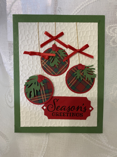 Handmade Christmas CardDiane Hunt