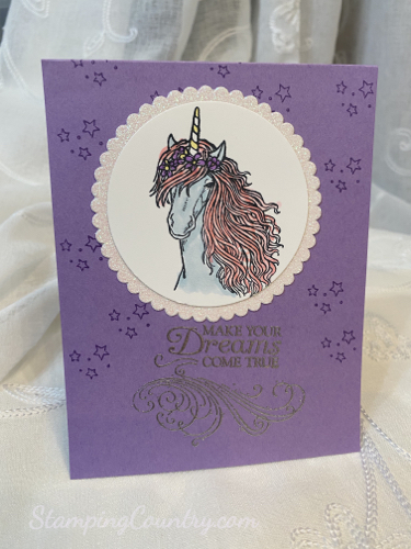 Leave a Little Sparkle Stampin' Up!