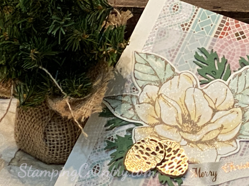 Beautiful Boughs Christmas Card Stampin' Up!