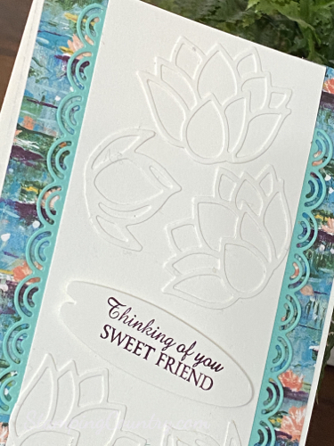 Lily Pad Dies Stampin' Up!