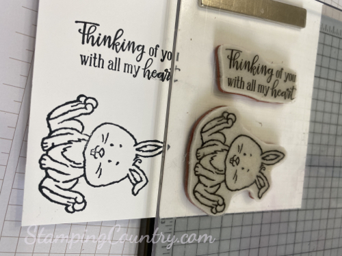 Welcome Easter Stampin' Up!
