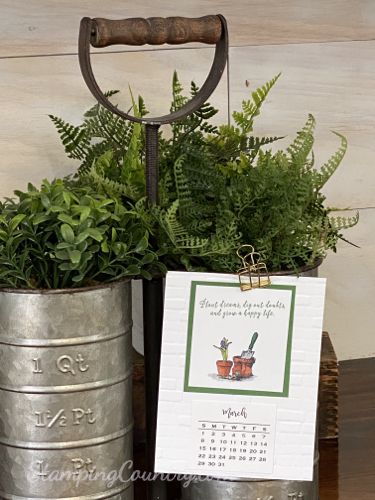 Garden Shed Stampin' Up!