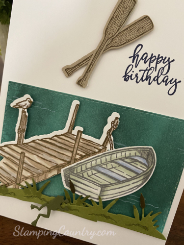 By the Dock Stampin' Up!
