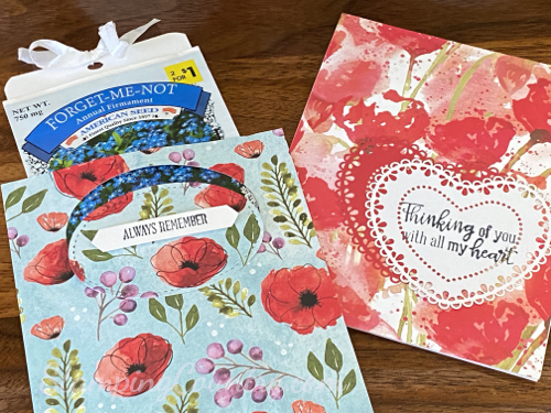 Peaceful Poppies Stampin' Up!