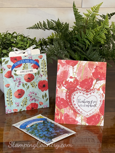 Peaceful Poppies Stampin' Up!+iCpTXmXpnVv0u7SFg