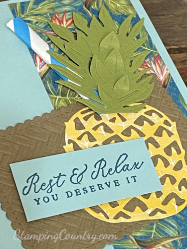 Tropical Oasis Stampin' Up!