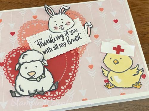 Red Cross Card