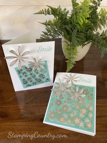 Handmade Daisy Cards