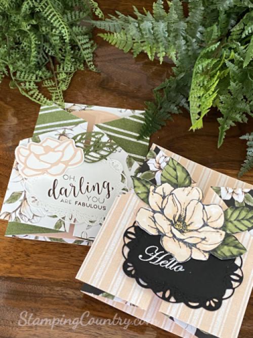 Double Gatefold Card-Fancy Fold Cards