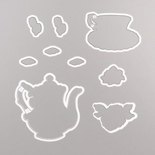 Tea Time Dies Stampin' Up!