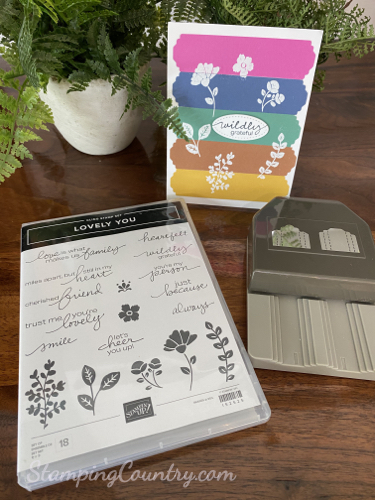 Lovely You Stampin' Up!