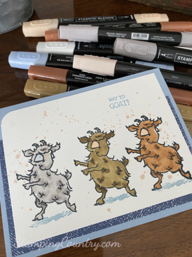 Way to Goat Stampin' Up!