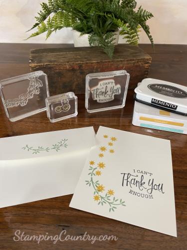 Ornamental Envelopes Stampin' Up!