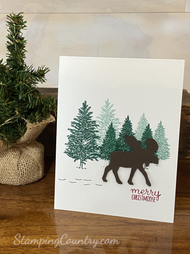 Merry Moose Stampin' Up!