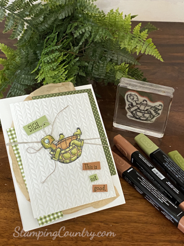 Back On Your Feet Stampin' Up!
