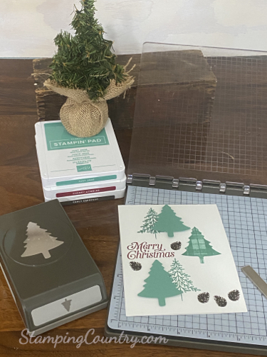 Perfectly Plaid Stampin' Up!