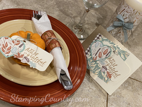 Beautiful Autumn Stampin' Up!