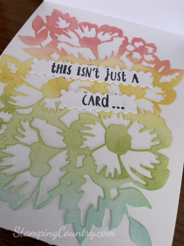 Blossoms In Bloom Stampin' Up!