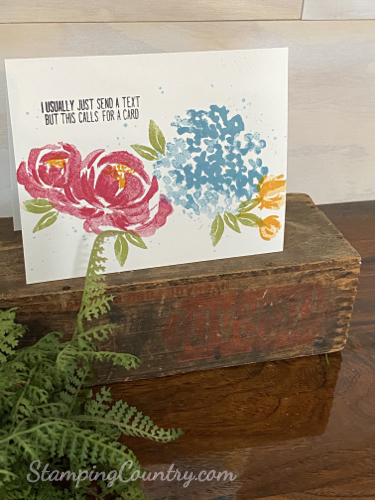 Beautiful Friendship Stampin' Up!