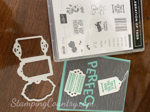 Celebration of Tags Stampin' Up!