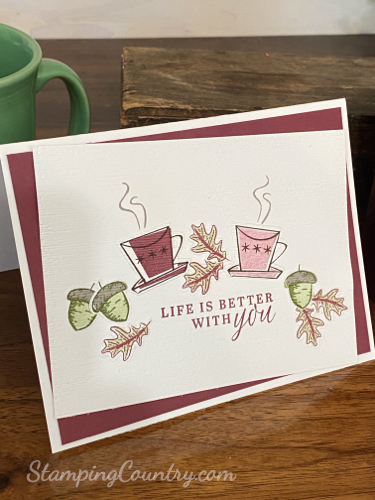 Nothing's Better Than Stampin' Up!