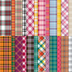 Plaid Tidings Designer Paper