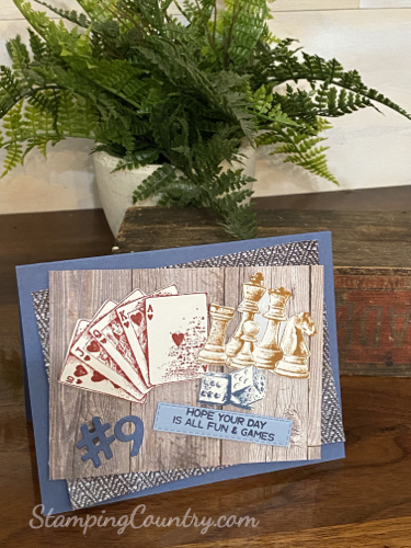 Game On Stampin' Up!