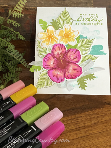 Timeless Tropical Stampin' Up!